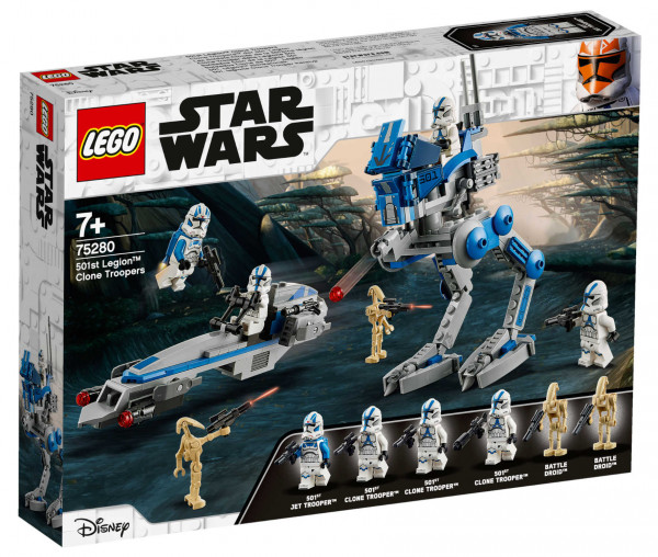75280 LEGO® Star Wars™ Clone Troopers™ der 501. Legion