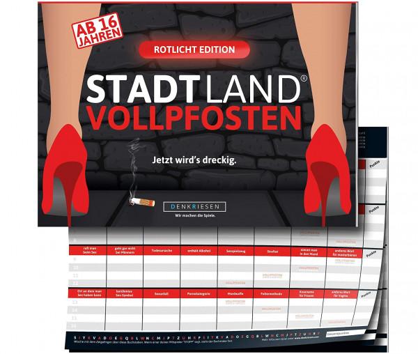 STADT LAND VOLLPFOSTEN® - Rotlicht Edition - Jetzt wird's dreckig.