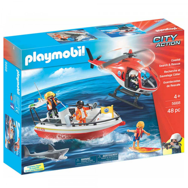 Playmobil 5668 - Große Küstenwache