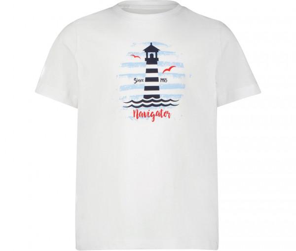 Navigator Jungen T-Shirt Leuchtturm