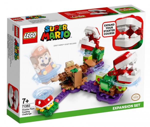 71382 LEGO® Super Mario™ Piranha-Pflanzen-Herausforderung – Erweiterungsset