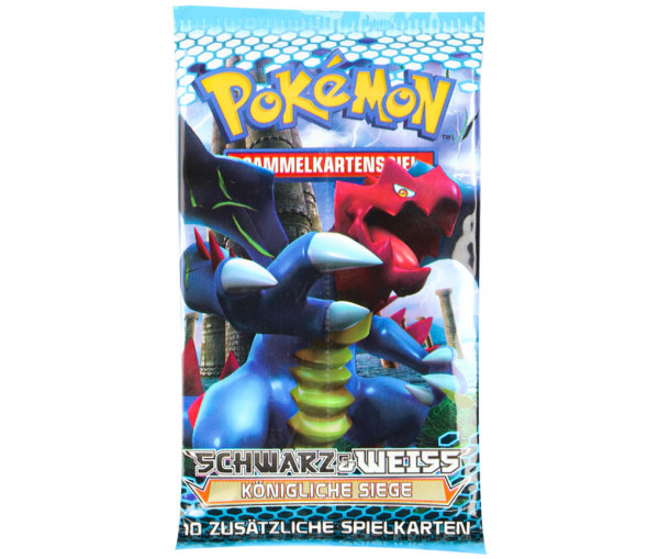 Pokémon Schwarz & Weiß Boosterpack Königliche Siege