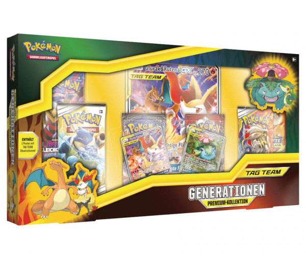 Pokémon Generationen Premium-Kollektion Tag Team