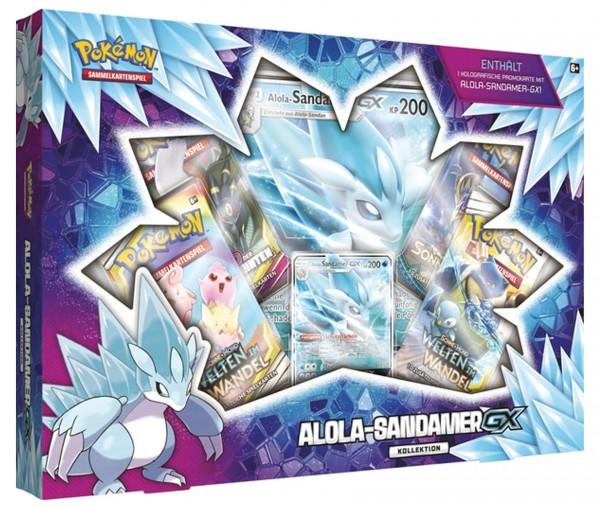 Pokémon Kollektion Alola-Sandamer GX