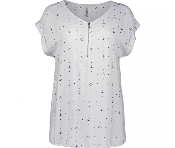 Marymaids Damen Bluse Carrie Anker