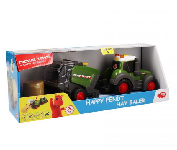 Dickie Toys Happy Fendt Hay Baler 3