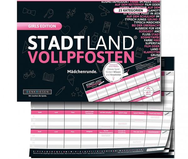STADT LAND VOLLPFOSTEN® - Girls Edition - Mädchenrunde.