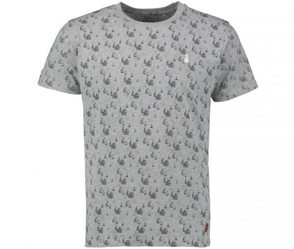 InselLeben Herren T-Shirt Fred Segelschiff