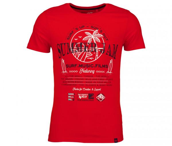 Timezone Herren T-Shirt Summer Jam