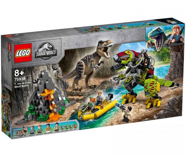 75938 LEGO® Jurassic World™ T. Rex vs. Dino-Mech