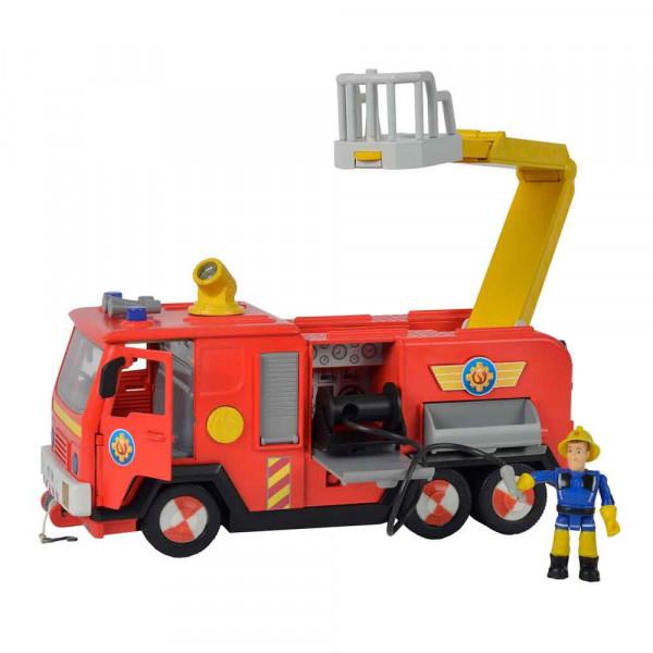 Simba Feuerwehrmann Sam Jupiter 2.0 mit Figuren & Feuerwehrauto