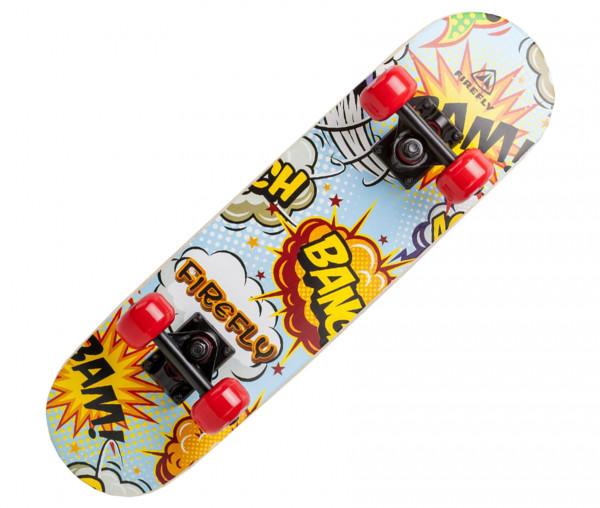 Firefly Skateboard Comic Design