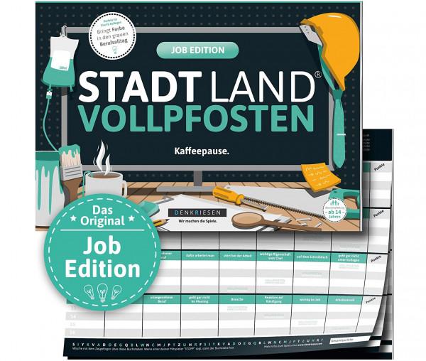 STADT LAND VOLLPFOSTEN® - Job Edition - Kaffeepause.