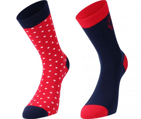 InselLeben Damen Socken Dots Alea 2er Pack