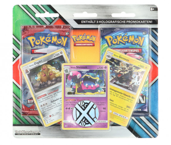 Pokémon Enhanced 2-Pack Blister DE Sammelkarten