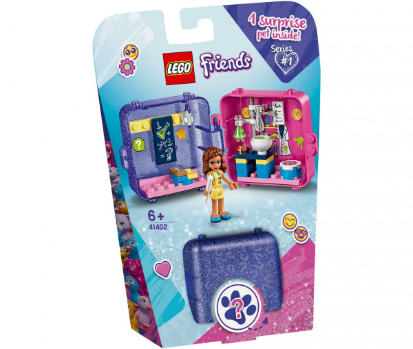 41402 LEGO® Friends Olivias magischer Würfel – Forscherin
