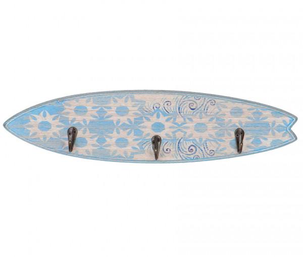 Surfboard mit 3 Kleiderhaken