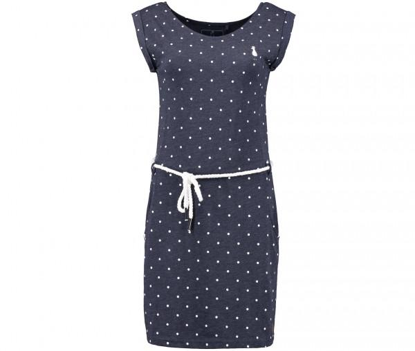 InselLeben Damen Kleid mit Punktedruck