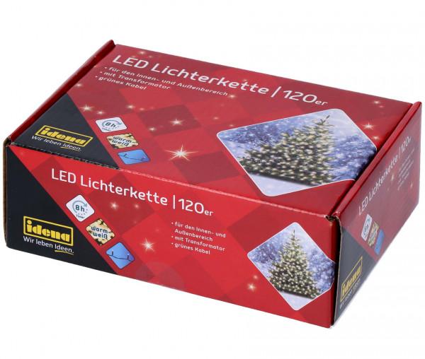 Idena LED Lichterkette 120er