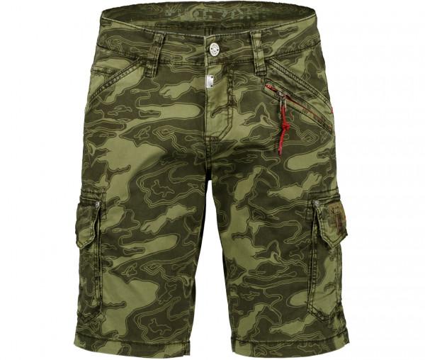 Timezone Herren Shorts RkyerTZ Camouflage
