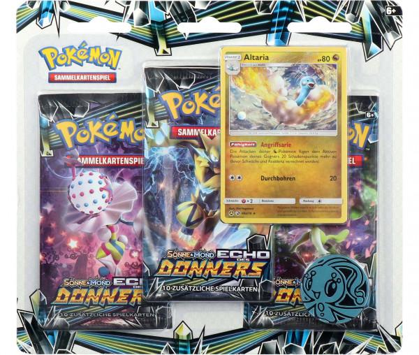 Pokémon Sonne & Mond Blister Echo des Donners
