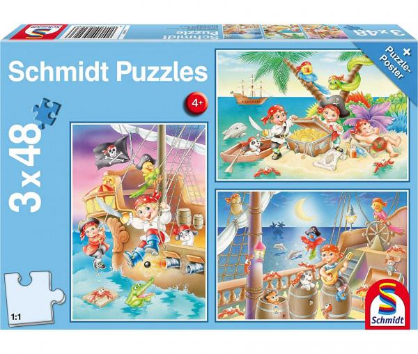 Schmidt Kinderpuzzles Piratenbande