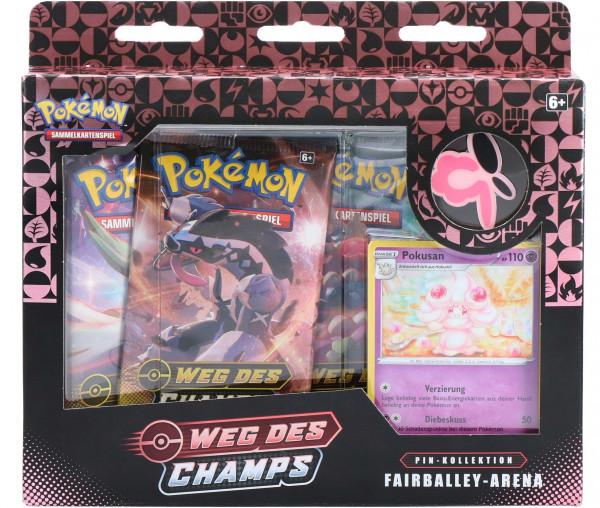 Pokémon Weg des Champs Pin-Kollektion Spikeford-Arena
