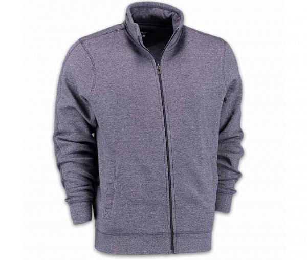 Tony Brown Herren melierte Sweatjacke
