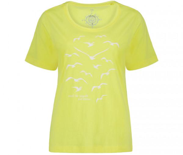 Julia Brown Damen T-Shirt Möwe