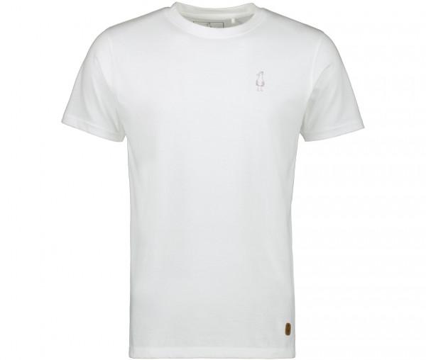InselLeben Herren T-Shirt Fred Unifarben