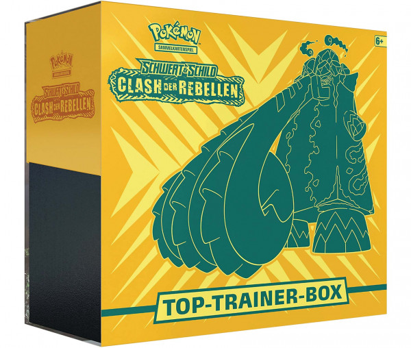 Pokémon Schwert & Schild Top-Trainer-Box Clash der Rebellen