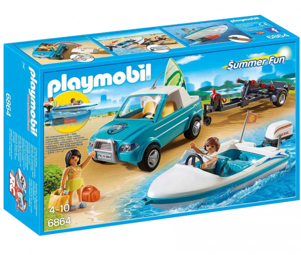 Playmobil 6864 - Surfer Pick-UP mit Boot
