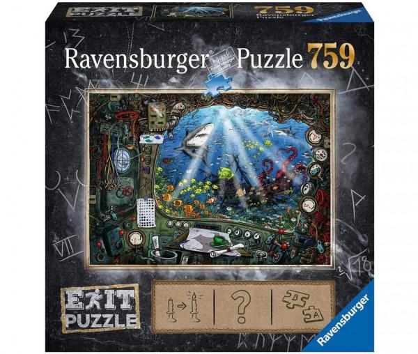 Ravensburger EXIT-Puzzle Im U-Boot