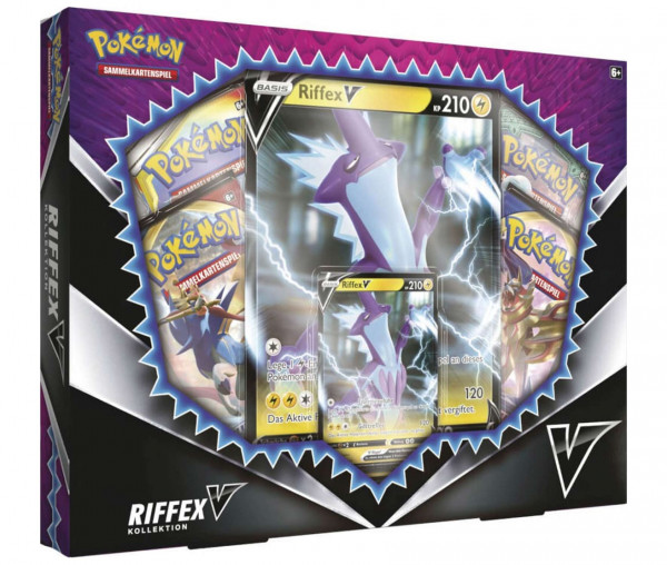Pokémon Riffex-V Box - Promokarte & Boosterpacks