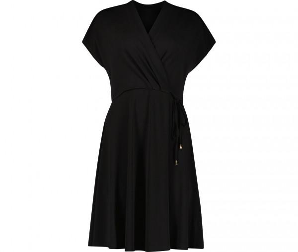 Julia Brown Damen Kleid Unifarben JB05