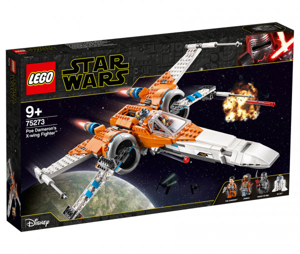 75273 LEGO® Star Wars™ Poe Damerons X-Wing Starfighter™