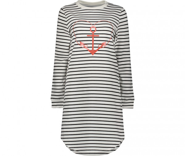 Marymaids Damen Kleid Melissa Streifen/Herz