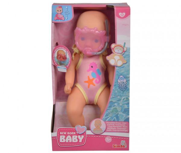 Simba New Born Baby Bade-Puppe