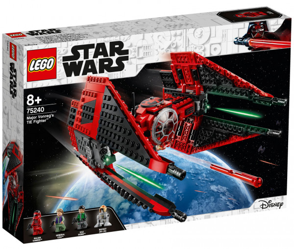 75240 LEGO® Star Wars™ Major Vonreg's TIE Fighter™