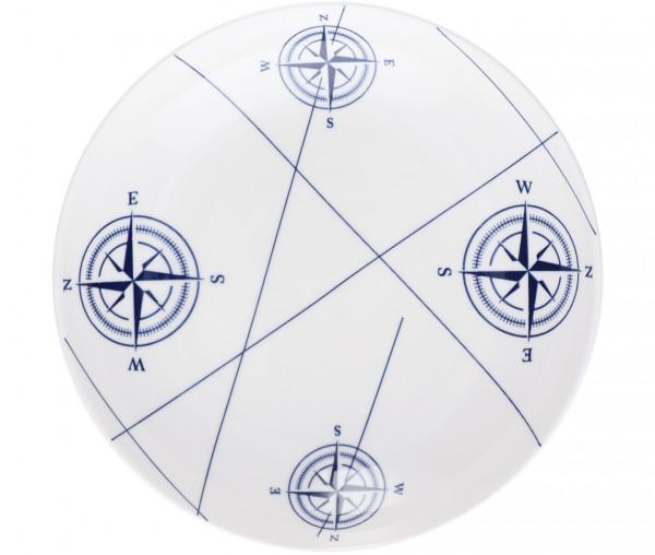 Tony Brown Speiseteller Kompass