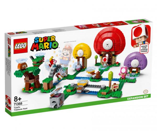 71368 LEGO® Super Mario™ Toads Schatzsuche – Erweiterungsset