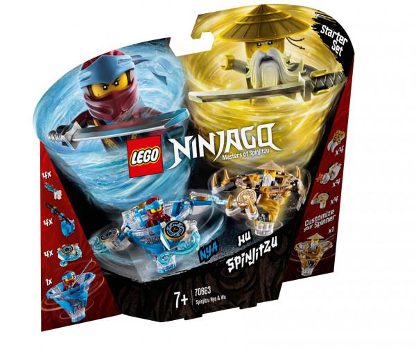 70663 LEGO® NINJAGO® Spinjitzu Nya & Wu