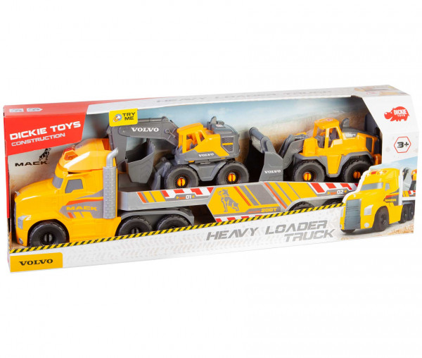 Dickie Toys Mack/Volvo Heavy Loader Truck