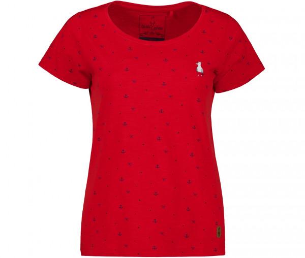 InselLeben Damen T-Shirt Frida Anker