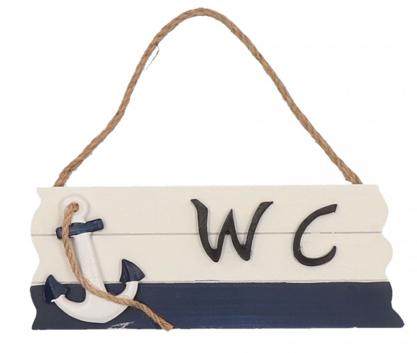 Tony Brown maritimes WC-Schild