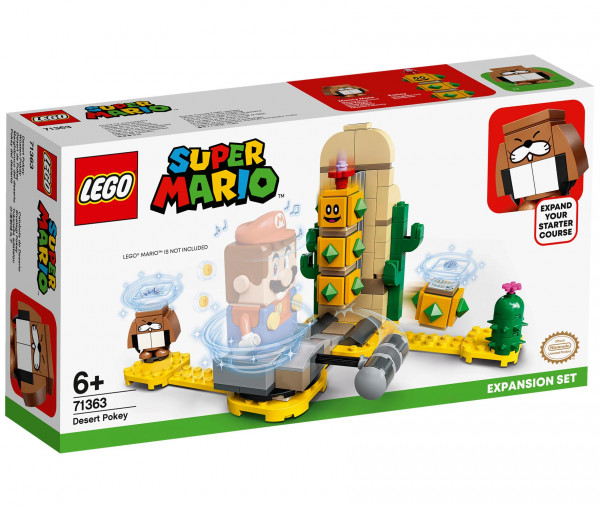 71363 LEGO® Super Mario™ Wüsten-Pokey – Erweiterungsset