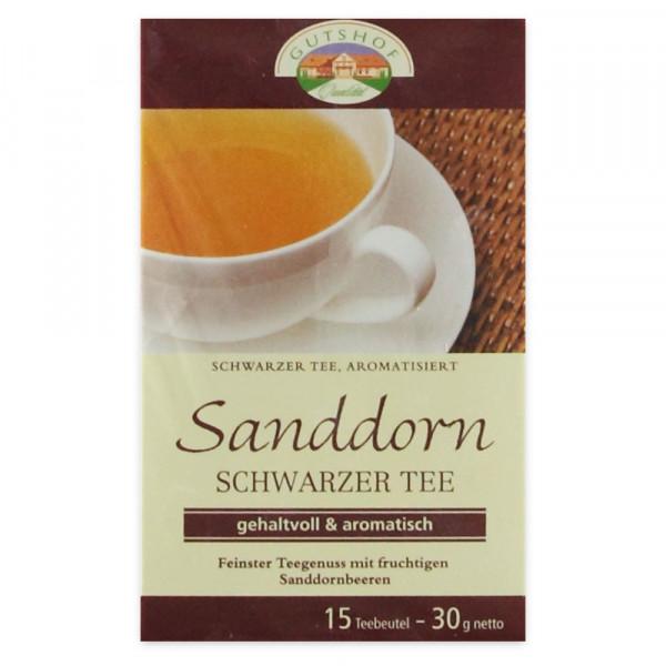 Avita Sanddorn Schwarzer Tee (Aufgussbeutel)