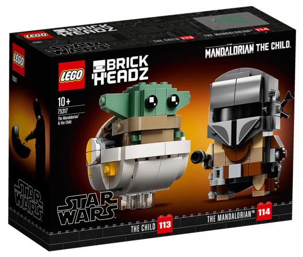 75317 LEGO® Star Wars™ Der Mandalorianer™ und das Kind