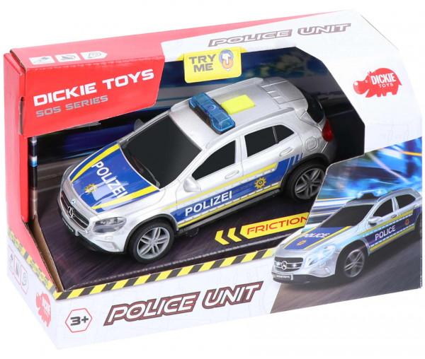 Dickie Toys Polizeiauto Police Unit