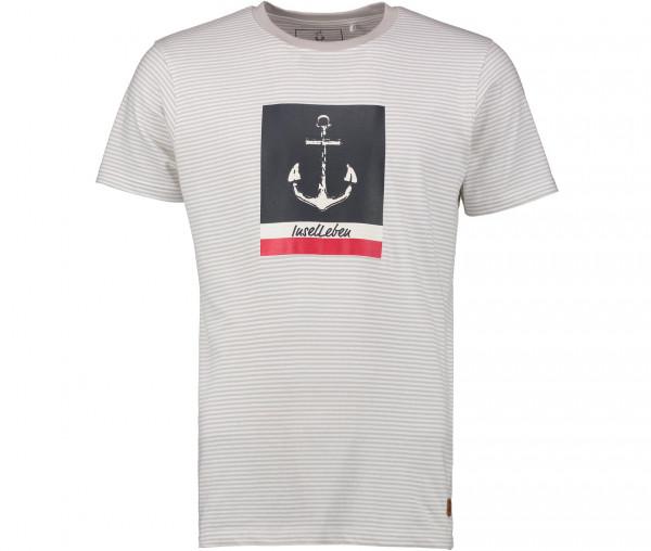 InselLeben Herren T-Shirt Fred mit Anker
